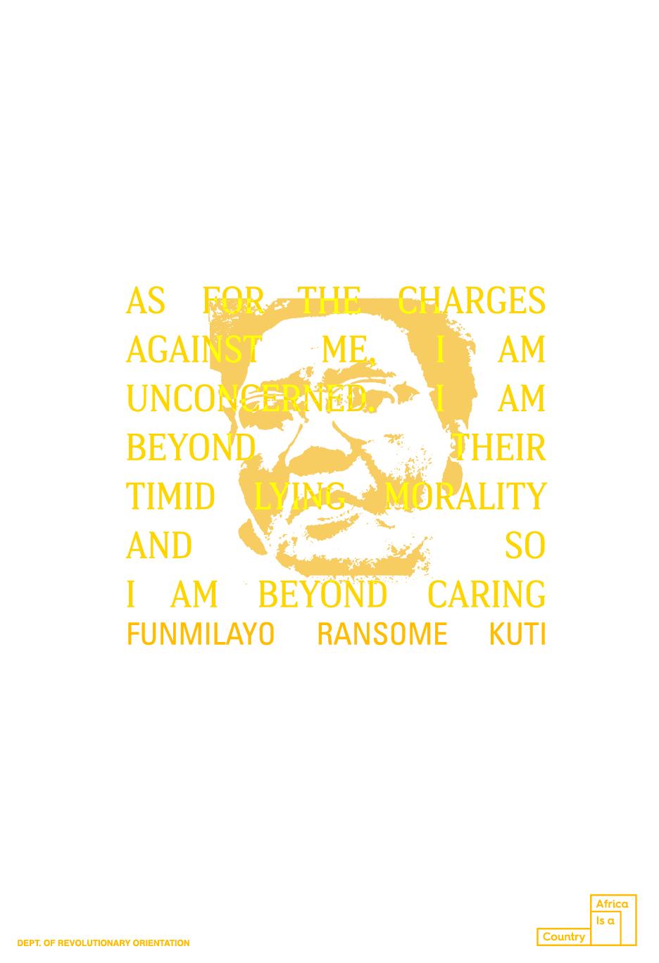 Funmilayo Ransome Kuti Poster
